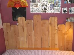 diy queen sized cedar headboard and footboard for less than 35 00