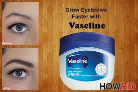 does vaseline help your eyebrows grow grow eyebrows with vaseline