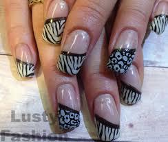 zebra pattern nail art 10 great toe nail art designs lustyfashion