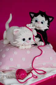 cat cake topper two cats pinteres