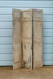 vintage shabby chic screen room divider in center city