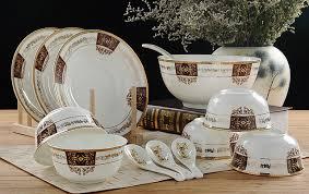 32 piece set royal fine bone china dinnerware set porcelain