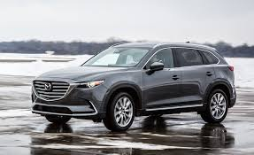 mazda suv range 2017 mazda cx 9 in depth model review car and driver