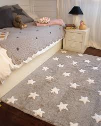 Machine Washable Rug Grey Rug With Stars Tricolor Stars Grey Pink Rug Desi Mocha
