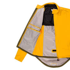 mens mtb jacket paul smith men u0027s 531 yellow waterproof cycling jacket in yellow
