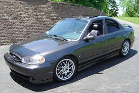 1998 ford contour svt 4 dr std sedan project car stuff