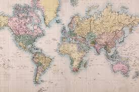 world of mercator s projection map mural muralswallpaper co uk