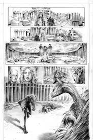 published freelance comic artist illustrator for hire