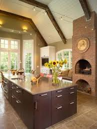 kitchen fireplace design ideas 9 cozy kitchens with fireplaces kitchen inspiration cozy