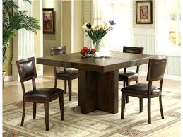 Chic Dining Rooms Dining Table With Storage Underneath Dining Room Table With