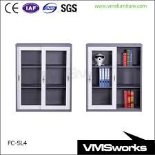 Bookshelves With Glass Doors For Sale by Double Sides Metal Library Furniture Bookshelves For Schools