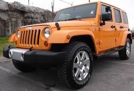 orange jeep 2016 10 best jeep wrangler colors old car memories