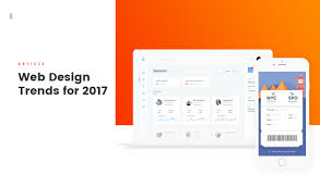 design trends in 2017 web design trends for 2017 on behance