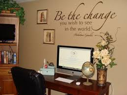 Home Office Decorating Ideas Pictures Fabulous Home Office Wall Decor Ideas With Home Decorating Ideas