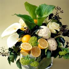 fruit flower arrangements centerpiece with pizazz gorgeous mix of white and new