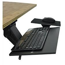 Computer Desk With Adjustable Keyboard Tray Uncaged Ergonomics Kt1 B Ergonomic Desk