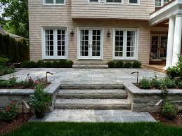 Building Stone Patio by Raised Patio Railing One Side Google Search Patio Pinterest