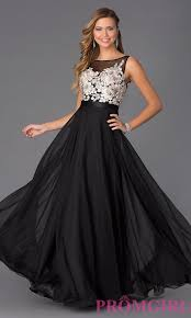 image of long sleeveless prom dress by mori lee style ml 97542