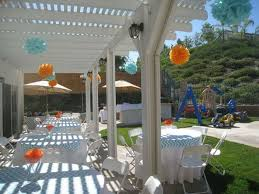 Ideas For Backyard Party by Decorations Simple Kids Party Decor Backyard Design Inspiration