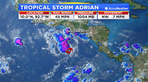Caribbean Weather Map Numerous Storms Over The Pacific Could Signal Higher Activity In