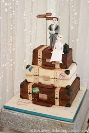 how to make a luggage wedding cake sweetie darling cakessweetie