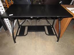 origami rde 01 black computer desk home office furniture ebay