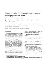 iospressdoublecolumnjournal instructions microsoft word typefaces