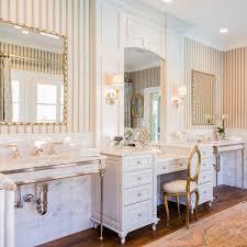 bathroom chandelier sconces a bathroom designed by talla skogmo