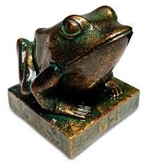 ancient egyptian home decor kek statue egyptian frog goddess heket statue ebay