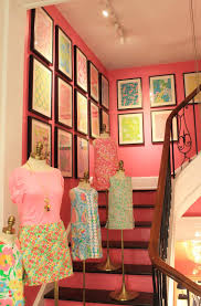 Lilly Pulitzer Furniture by Maryland Pink And Green A Punch Of Pink At Lilly Pulitzer Madison