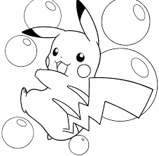 pikachu coloring pages free printable coloring pages
