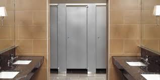 Bathroom Stall Pics Top Public Restrooms U0026 High End Bathroom Partitions Fastpartitions