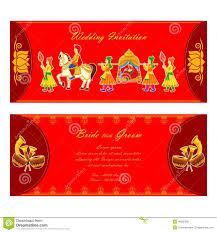Credit Card Wedding Invitations Indian Wedding Invitation Card Royalty Free Stock Photo Image
