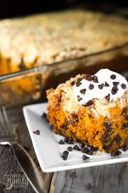 pumpkin chocolate chip bundt cake favorite family recipes