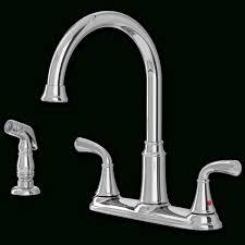 delta windemere 2 handle standard kitchen faucet with side sprayer