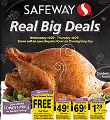 safeway nw coupon deals 11 20 11 28 free turkey deal cake mix
