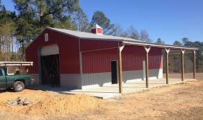 Pole Barn Roofing How To Add On To A Pole Barn Ebay