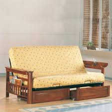 wildon home cottage grove futon frame with flip up arms and