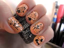 manicure monday u2013 graffiti on orange little luxuries
