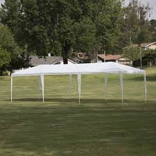 10 X 5 Canopy by 10x30 Party Tent W 5 Wall White Onebigoutlet Com
