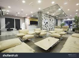 modern luxury hotel lobby interior stock photo 429696277