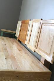 Tables Made From Doors by Diy Cabinet Door Bench U2013 Do Small Things With Love