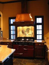 tile murals for kitchen backsplash rooster mosaic kitchen backsplash tile mural creative arts fanabis