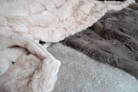 Fake Fur Throws Scandinavian Style Bedrooms Inspiration Natural Bed Company
