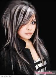 white hair with black lowlights 7 best hair ideas images on pinterest plaits hair ideas and