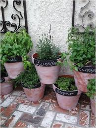 Herb Garden Pot Ideas Patio Herb Garden Containers 52 Best Small Space Garden