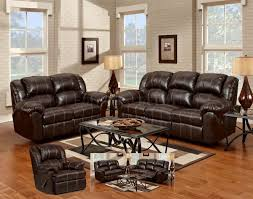 Leather Sofa With Recliner Leather Reclining Sofa Sets Sale Radiovannes