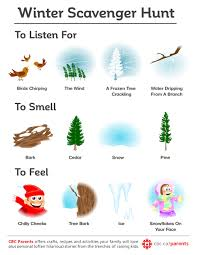 thanksgiving treasure hunt printable winter scavenger hunt play cbc parents