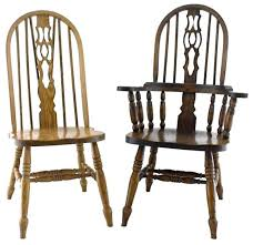 Amish Chair Windsor Fiddle Back Dining Chair From Dutchcrafters