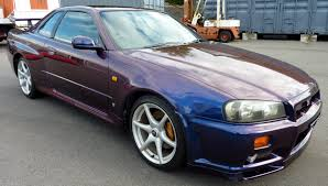 nissan sport 1990 walk around 2000 nissan skyline r34 gtr midnight purple 3